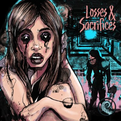 Cover for Losses and Sacrifices Trifecta by Cesar Valtierra