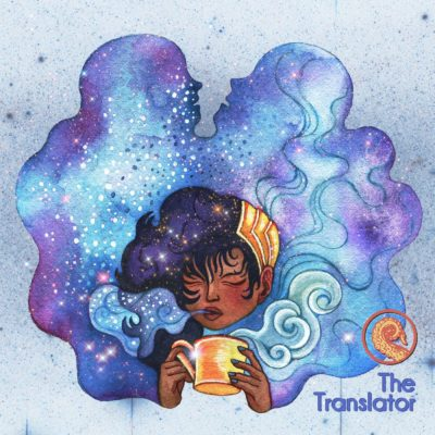 Drabblecast cover for The Translator by Susie Oh