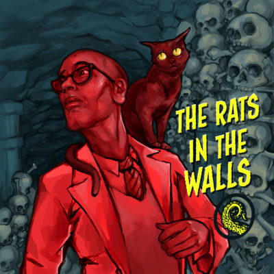 Cover for Drabblecast episode The Rats In The Walls by Bo Kaier