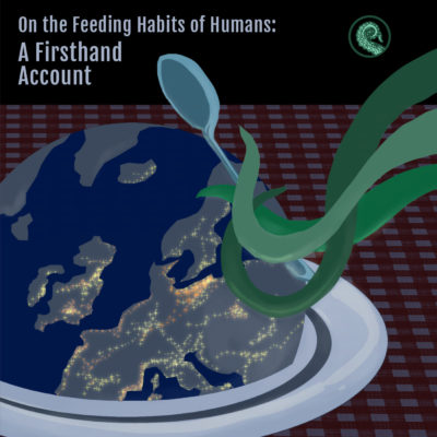 Lissa Quon's Cover for On the Feeding Habits of Humans for the Drabblecast