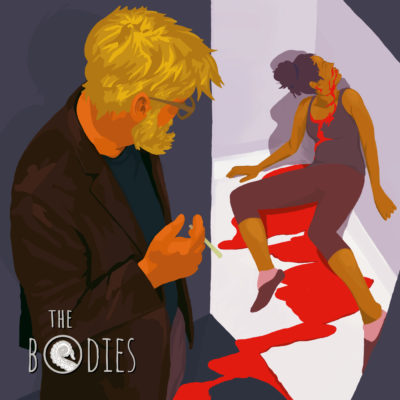 Bo Kaier cover for Drabblecast, Tim Pratt's The Bodies