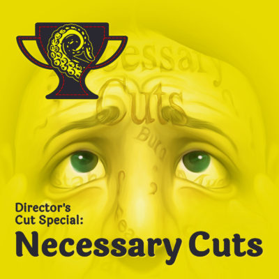 Drabblecast Director's Cut Necessary Cuts Cover by Bo Kaier