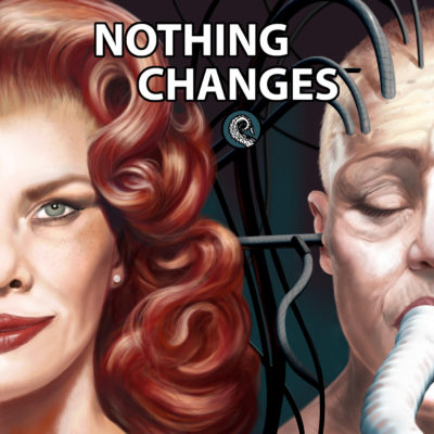 Drabblecast Nothing Changes cover by Scott Shaffer