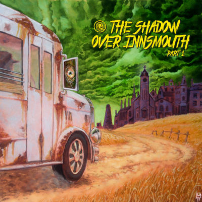 Drabblecast Cover The Shadow Over Innsmouth by Tristan Tolhurst 1