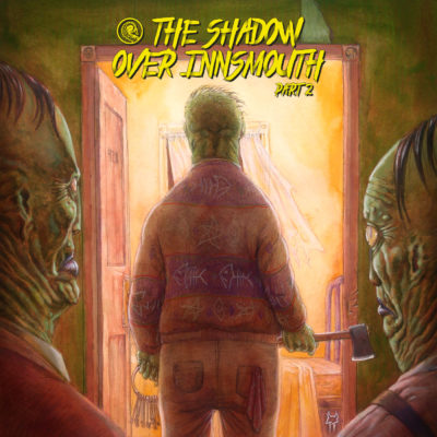 Drabblecast Cover The Shadow Over Innsmouth by Tristan Tolhurst 2