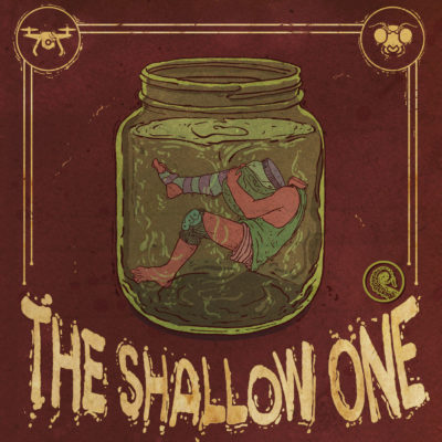 The Shallow One Cover Art by Leonardo d'Almeida