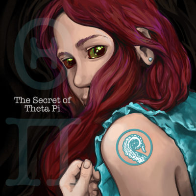 Cover for Drabblecast The Secret of Theta Pi by Bo Kaier