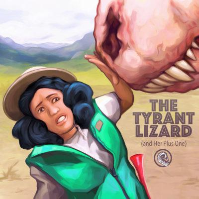 Drabblecast Tyrant Lizard Cover by Bo Kaier