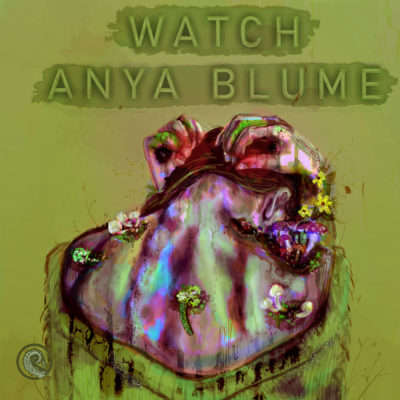 Drabblecast cover for Watch Anya Blume by artist H. Lee Messina